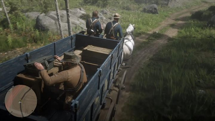Approach the black chest - Honor, Amongst Thieves - Red Dead Redemption 2 Walkthrough - Chapter 6 - Beaver Hollow - Red Dead Redemption 2 Guide
