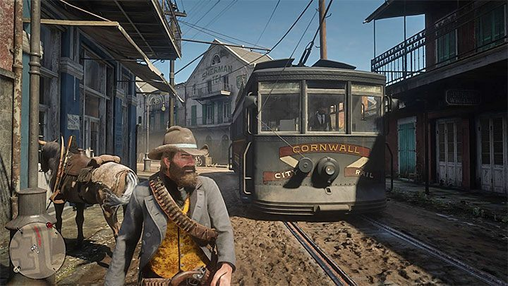 Red Dead Redemption 2 Streetcar In Saint Denis Can You Drive Red Dead Redemption 2 Guide Gamepressure Com