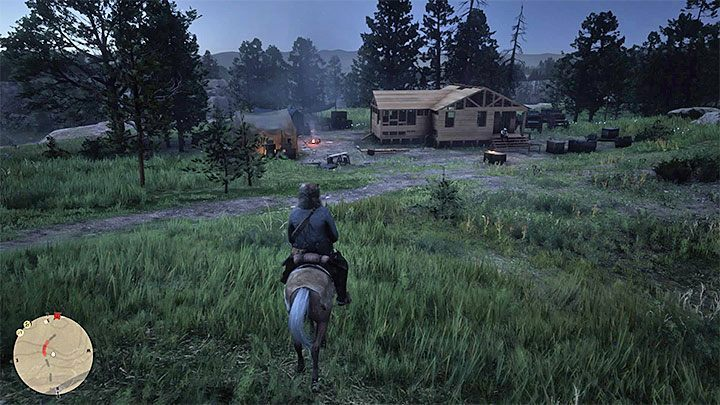 This location is a house under construction - Unique locations with small side quests in RDR2 - Side quests - Red Dead Redemption 2 Guide