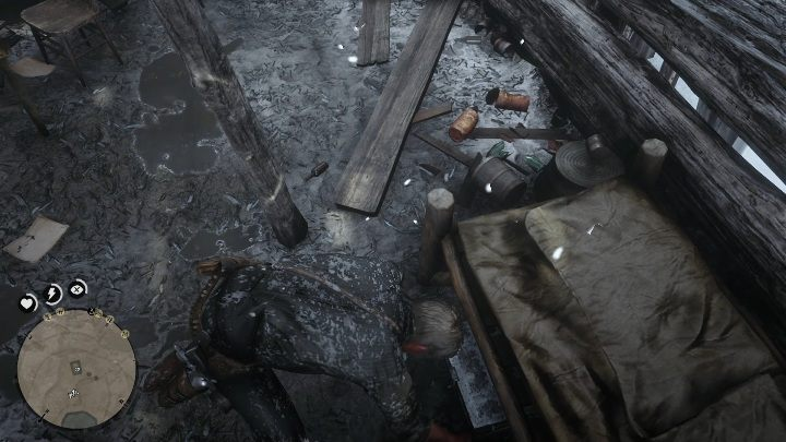 Look for the box hidden beneath the bed - The Poisonous Trail Treasure Hunt in Red Dead Redemption 2 - Secrets and collectibles - Red Dead Redemption 2 Guide
