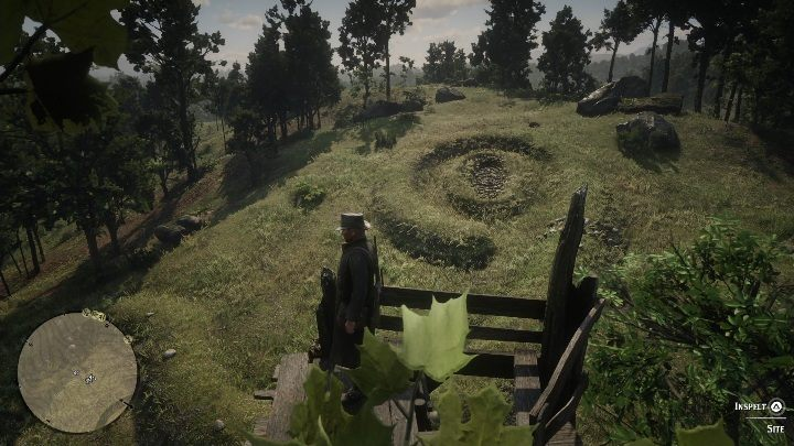 Climb the watchtower to inspect the site (just like in the picture above) - The Poisonous Trail Treasure Hunt in Red Dead Redemption 2 - Secrets and collectibles - Red Dead Redemption 2 Guide