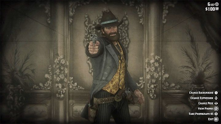 Additional information: In the main city of the game - Saint Denis - there is a photo studio - How to take pictures in the RDR2 game? - FAQ - Red Dead Redemption 2 Guide