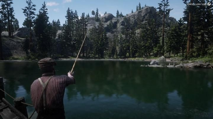 1 - Legendary Rock Bass in RDR2 - Legendary fish - Red Dead Redemption 2 Guide