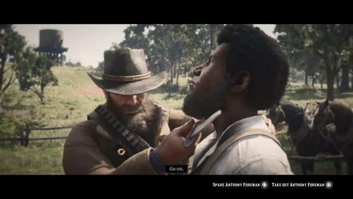 When you kill the two fleeing people, you will have to catch the last fugitive with a lasso - No, no and Thrice, No - Red Dead Redemption 2 Walkthrough - Chapter 4 - Shady Belle - Red Dead Redemption 2 Guide