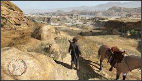 Go under the hanging rock - Challenges - Treasure Hunter - Challenges - Red Dead Redemption - Game Guide and Walkthrough