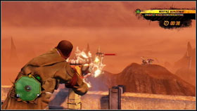 We can see many of the transmission towers on the horizon #1 - Demolition Master - part 1 - Additional info - Red Faction: Guerrilla - Game Guide and Walkthrough