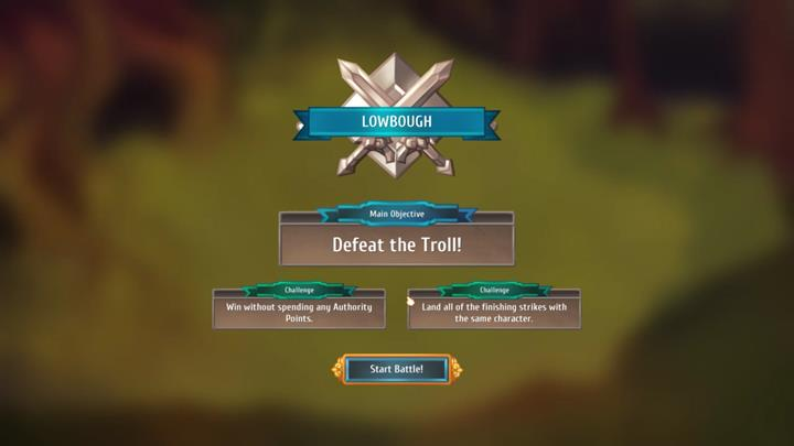 In this case, your objective is to defeat a strong troll - Example battles | Dungeons and combat - Dungeons and combat - Regalia: Of Man and Monarchs Game Guide