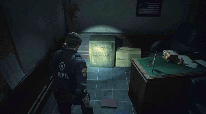 How To Open The Safe In The Police Station S Office Leon In
