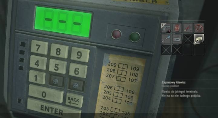 Where I can find the buttons for the console - Resident Evil