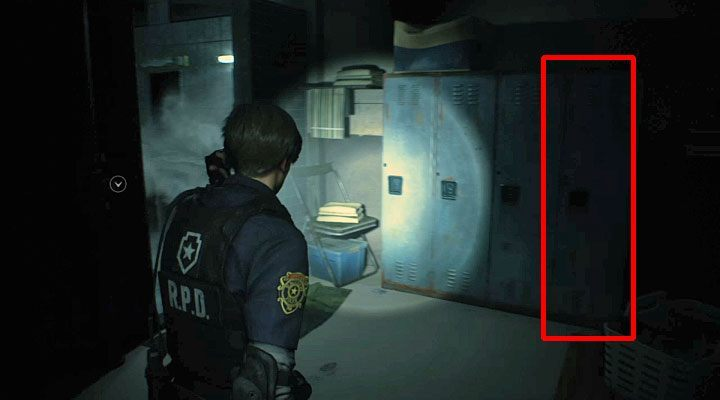 Locker combinations at police station in Resident Evil 2 - Resident