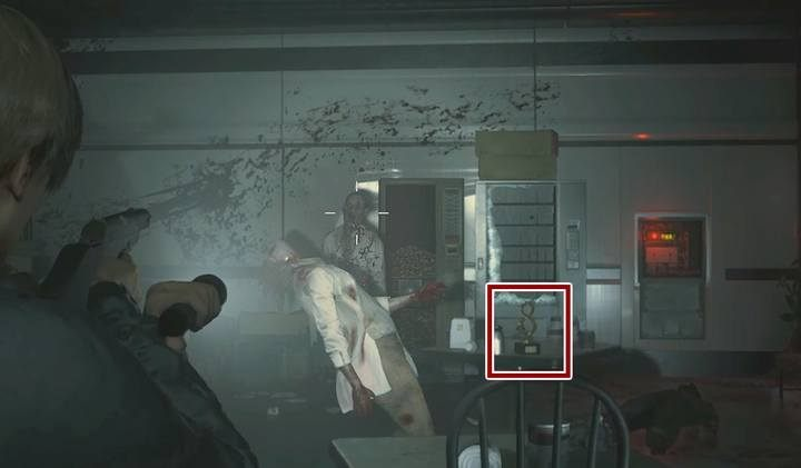 Where to find the terminal codes in NEST of Resident Evil 2