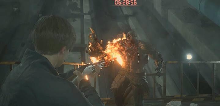 Boss Fight Tyrant Leon In Resident Evil 2 Resident Evil 2