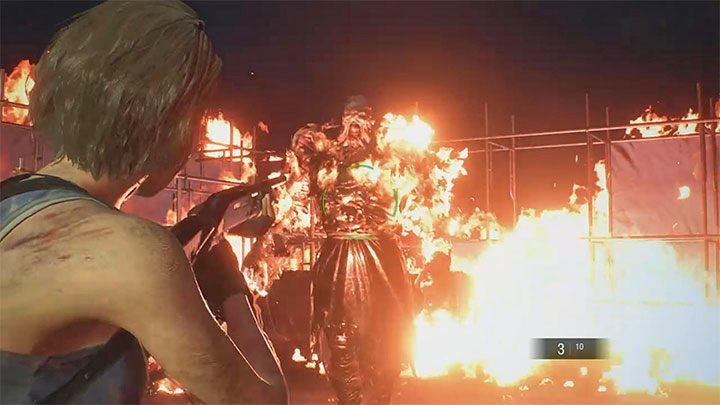 Resident Evil 3 Nemesis Demolition Site Boss Fight Resident
