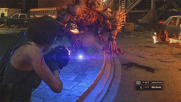 Resident Evil 3 Nemesis Clock Tower Plaza Boss Fight Resident Evil 3 Guide Gamepressure Com