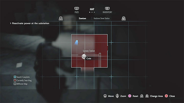 Resident Evil 3 Colors On The Map What Do They Mean Resident Evil 3 Guide Gamepressure Com