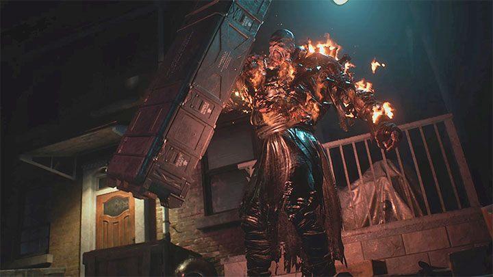 Resident Evil 3 Nemesis The Main Boss Enemy Resident Evil 3 Guide Gamepressure Com