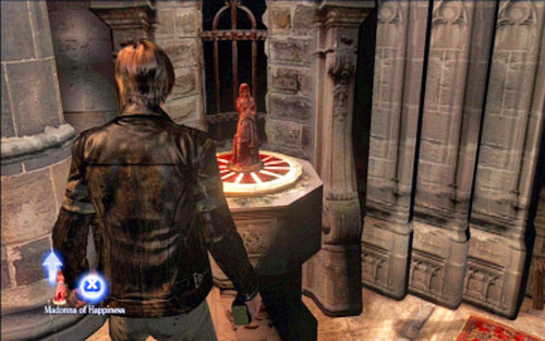 Once you're inside, go to the altar and examine it - Chapter 2 - The Cathedral - Leon's campaign - Resident Evil 6 - Game Guide and Walkthrough