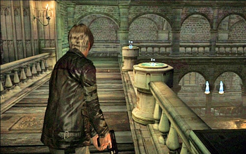 Get through it and put statues on podiums on both sides of the altar - Chapter 2 - The Cathedral - Leon's campaign - Resident Evil 6 - Game Guide and Walkthrough