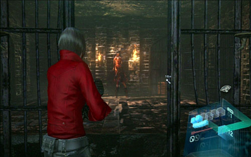 In the newly unlocked room you'll encounter three walking undeads - Chapter 2 - Cemetery Puzzles - Ada's campaign - Resident Evil 6 - Game Guide and Walkthrough