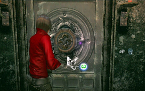Thanks to that you'll open the gate in room of hangmen - Chapter 2 - Cemetery Puzzles - Ada's campaign - Resident Evil 6 - Game Guide and Walkthrough