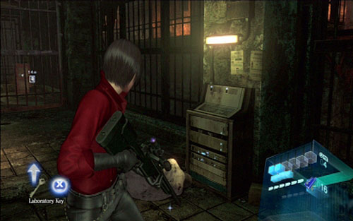 Chapter 2 The Secret Laboratory Ada S Campaign Resident Evil