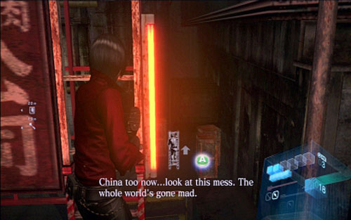 Chapter 3 Chainsaw Mutant Ada S Campaign Resident Evil 6