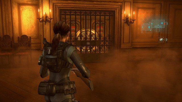 Moving Wall Room Resident Evil