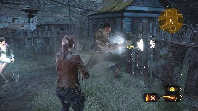 Disable The Alarm Contemplation Claire Resident Evil