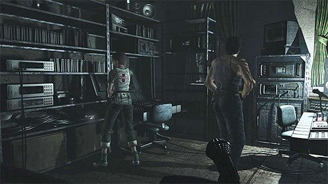 Resident Evil  Broadcast Room