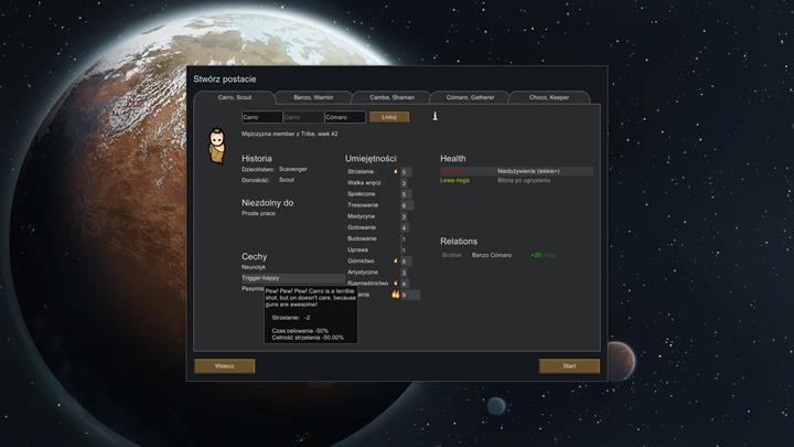 Colonists creation - RimWorld Game Guide | gamepressure com