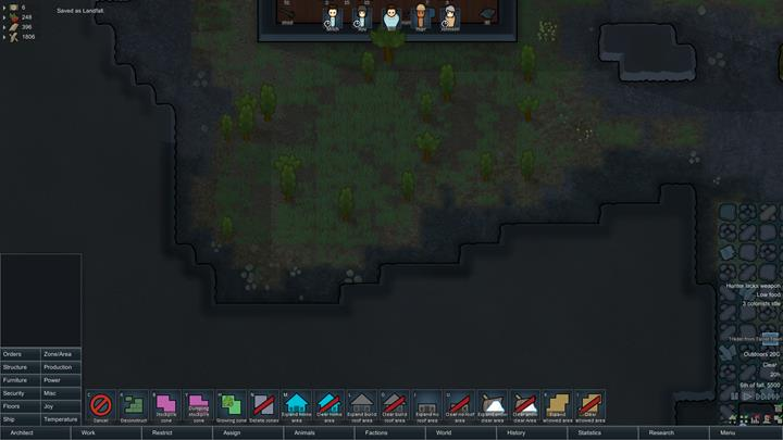 How does the architect mode work? - RimWorld Game Guide