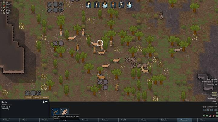 Gathering food - RimWorld Game Guide   gamepressure com