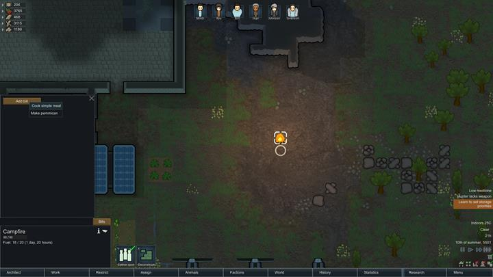 Gathering food - RimWorld Game Guide | gamepressure com