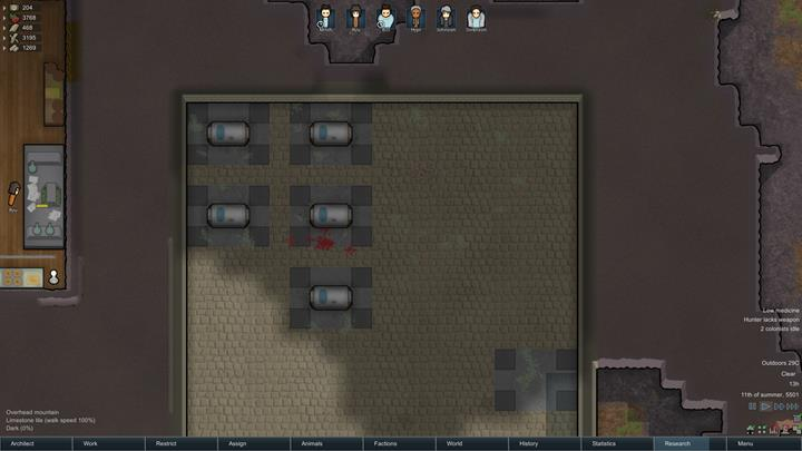 How To Use Graves In Rimworld