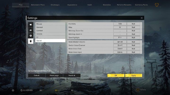 Reset the game if voice chat isnt working - Does Ring of Elysium have a voice chat? - FAQ - Ring of Elysium Guide and Tips