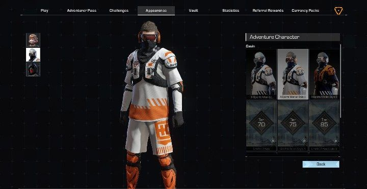 Gavin has 7 outfits - Adventure characters in Ring of Elysium - Characters - Ring of Elysium Guide and Tips