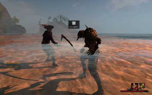 There is a whole army of Sunken Ones on the coast. - A Way Out of the Cave - The Isle of Thieves - Quests - Risen 2: Dark Waters - Game Guide and Walkthrough