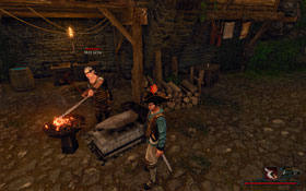 Wilson [#4] � the port city�s blacksmith - Antigua - Trainers - Risen 2: Dark Waters - Game Guide and Walkthrough