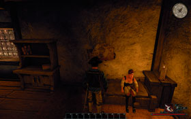 Scarlett [#3] � a prostitute living in the port city�s tavern - Antigua - Trainers - Risen 2: Dark Waters - Game Guide and Walkthrough