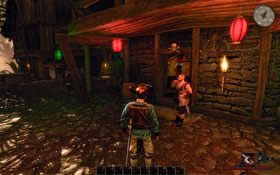 Zak [#1] - the bouncer outside the port city's tavern - Antigua - Trainers - Risen 2: Dark Waters - Game Guide and Walkthrough