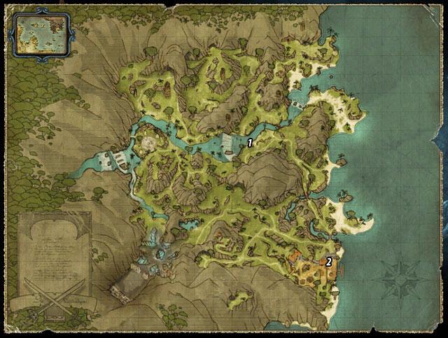 Jim's Treasure | The Sword Coast - Quests - Risen 2: Dark