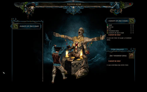 Create Doll - Voodoo - Hero - Special Skills - Risen 2: Dark Waters - Game Guide and Walkthrough