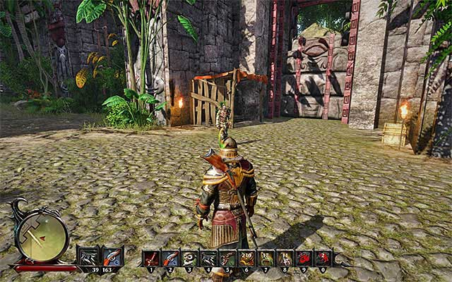 open the large gate main quests kila risen 3 titan lords game
