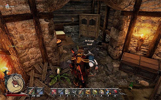 Di Fuego's Corpse | Side Quests - Tacarigua - Risen 3: Titan Lords