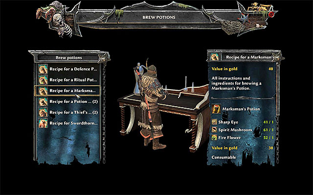 Crafting strategy guide risen 3 titan lords game guide the potion brewing window crafting risen 3 titan lords game guide and malvernweather Image collections