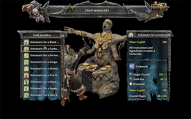 Crafting strategy guide risen 3 titan lords game guide talisman creating window crafting risen 3 titan lords game guide and walkthrough malvernweather Image collections