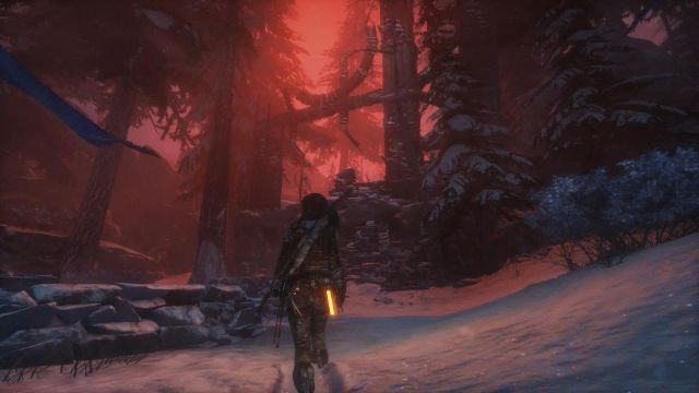 After you craft a weapon, it is best to spend some time exploring the vicinity of the camp and, at the same time, hunt for some animals in this area - Explore the forest for the Signs of the Lost City | Siberian Wilderness - Echoes of the Past - Siberian Wilderness - Echoes of the Past - Rise of the Tomb Raider Game Guide & Walkthrough