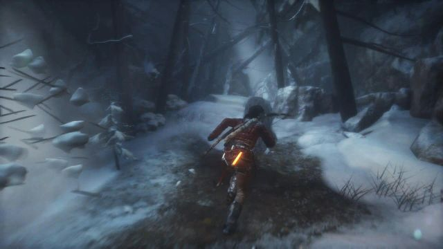 Sprint ahead (push the left analog stick) - Investigate the ruins | Siberian Wilderness - Echoes of the Past - Siberian Wilderness - Echoes of the Past - Rise of the Tomb Raider Game Guide & Walkthrough