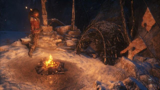 As soon as you have collected all of the necessary resources, i - Return to the camp to upgrade arrows | Siberian Wilderness - Best Laid Plans - Siberian Wilderness - Best Laid Plans - Rise of the Tomb Raider Game Guide & Walkthrough