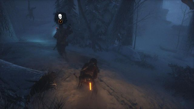 After a while, there will be another soldier strolling past Lara - Sneak or fight past the Trinity soldiers to reach the cave | Siberian Wilderness - Best Laid Plans - Siberian Wilderness - Best Laid Plans - Rise of the Tomb Raider Game Guide & Walkthrough